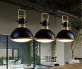 Скандинавские  промышленные  творческие  сельские  для ресторана  гостиной  бар  ретро  для бильярда  LED  3 головки  droplight