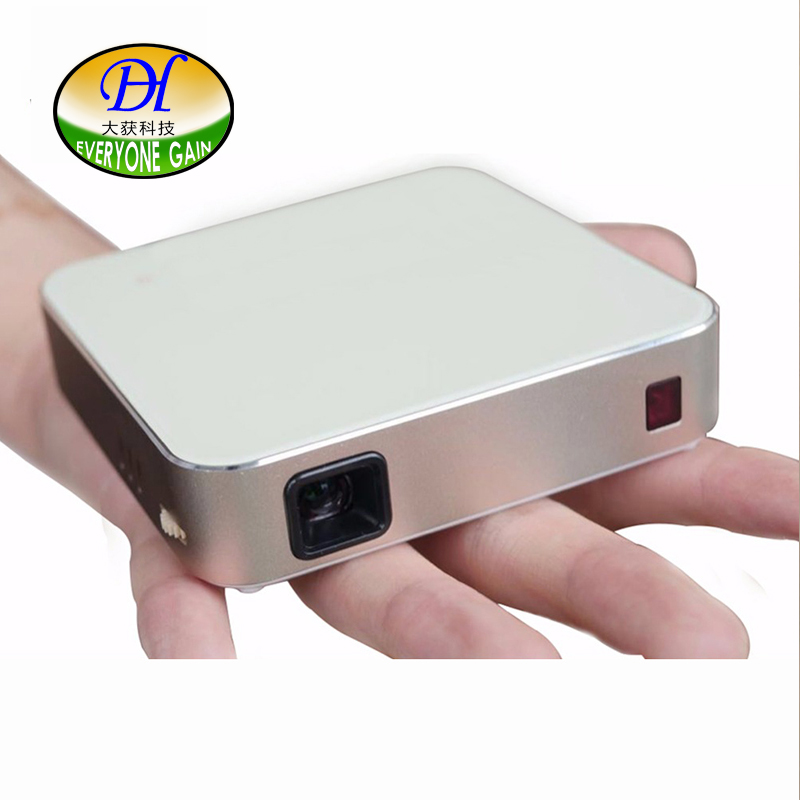 Everyone Gain Portable Smart Projector DLP Battery Android WiFi Pantall Proyector Full HD Projetor Touch Screen
