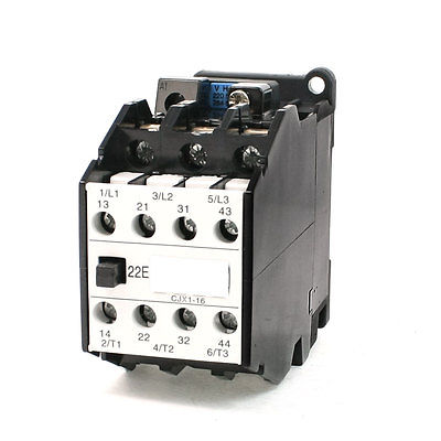 цена на 660V 31.5A 3 Phase 3P 2NO+2NC AC Contactor DIN Rail Mount 220V Coil CJX16/22
