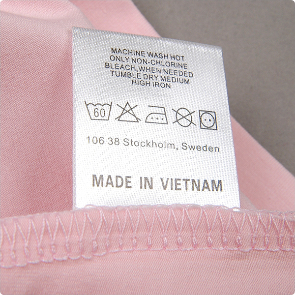 Free Shipping1000pcs Lot Custom Garment Satin Care Labels