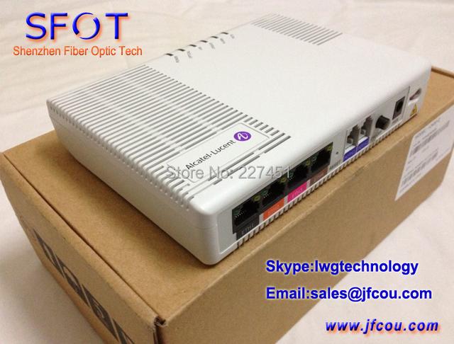 Shanghai bell, Alcatel Lucent FTTO terminal de rede óptica I-240E-Q GPON ONU, 4 portas ethernet & 2 portas telefônicas de SIP