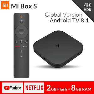 Xiaomi Media-Player Top-Box Iptv-Set Cast Netflix Wifi Android Google Ultra Brand HD