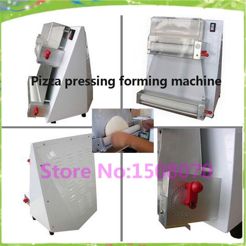 Pizza dough machine equipment 100 400mm commercial flat pizza making maker machine/round pizza crust forming machine