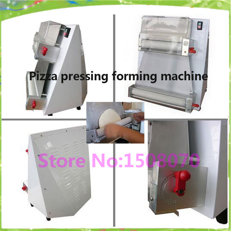 Pizza dough machine equipment 100-400mm commercial flat pizza making maker machine/round pizza crust forming machine electric pizza dough press machine for rolling dough dough sheet making machine