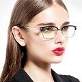 Оптически Рамка Для Женщин Степень Очки Старинные Очки В Круглой И Полу-Без Оправы kly2951