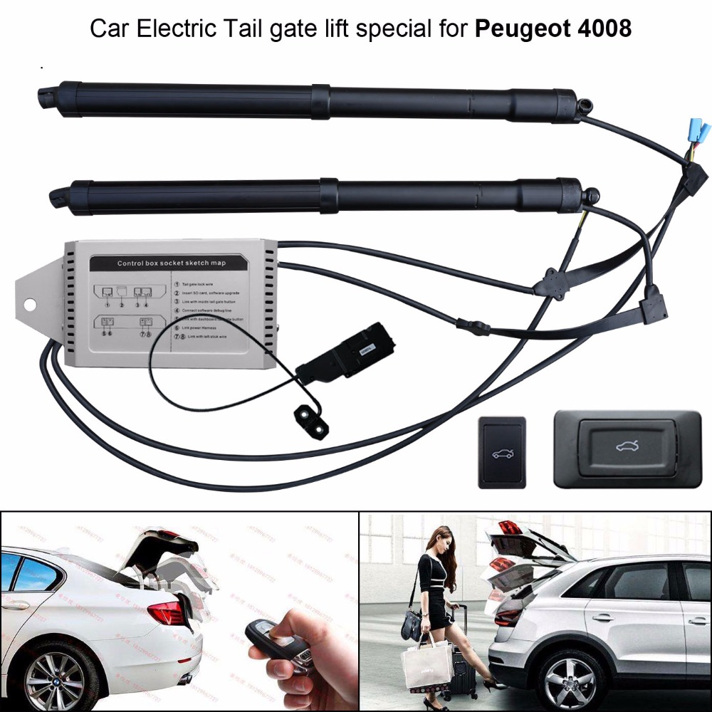 Smart Electric Tail Gate Lift Easily For You To Control Trunk For Peugeot 4008 With Electric Suction Function