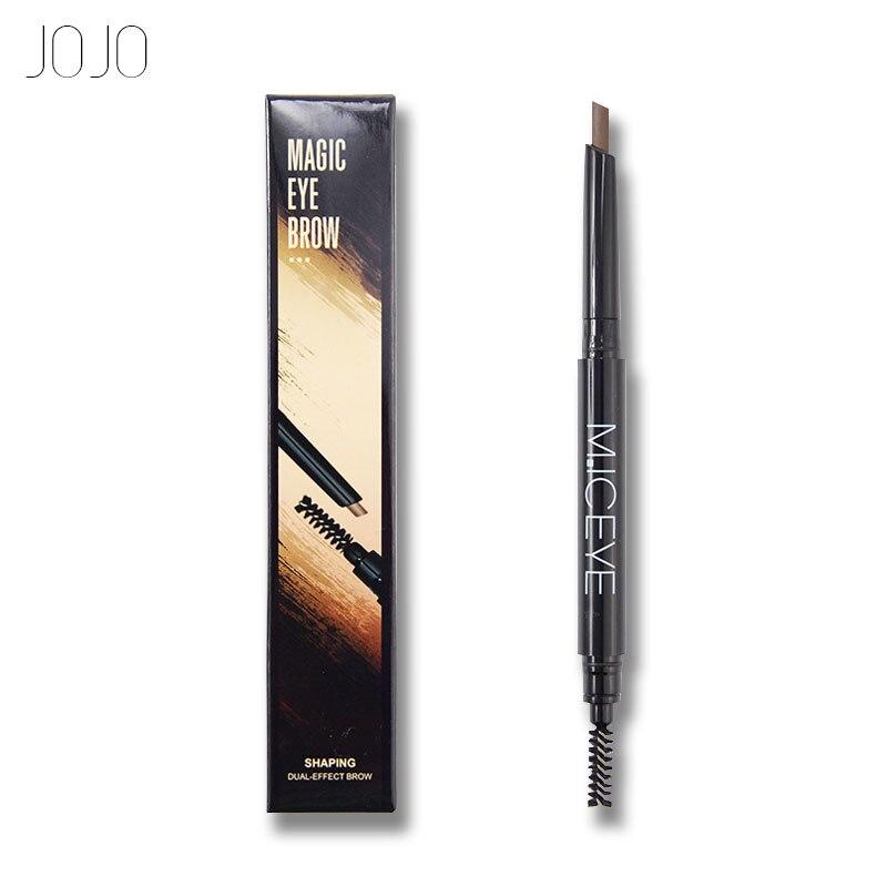 JOJO vízálló 3 szín szem szemöldök szemceruza szemöldök toll ceruza kefe smink kozmetikai eszközök