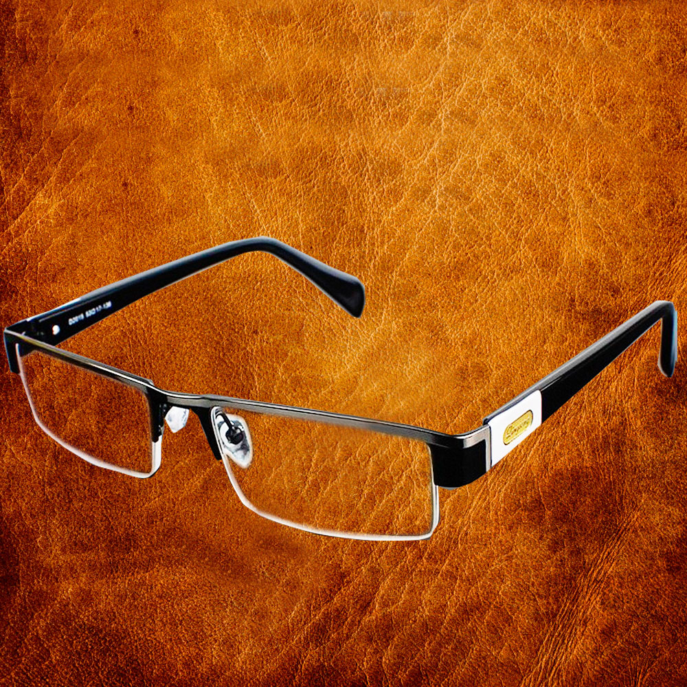 High Quality MEN Titanium alloy Eyeglasses Non spherical 12 Layer Coated lenses reading glasses+1.0 +1.5 +2.0 +2.5 +3.0 +3.5+4.0