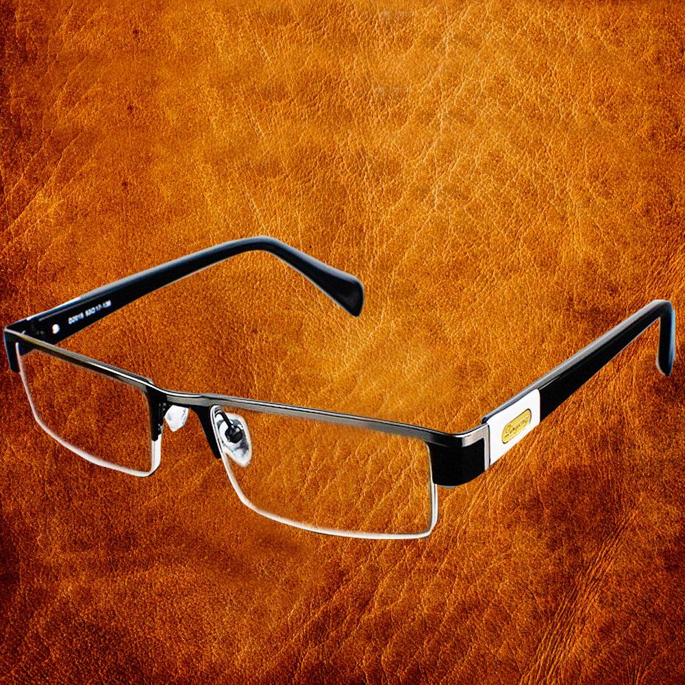 High Quality MEN Titanium Alloy Eyeglasses Non Spherical 12 Layer Coated Lenses Reading Glasses+1.0 +1.5 +2.0 +2.5 +3.0 +3.5+4.0