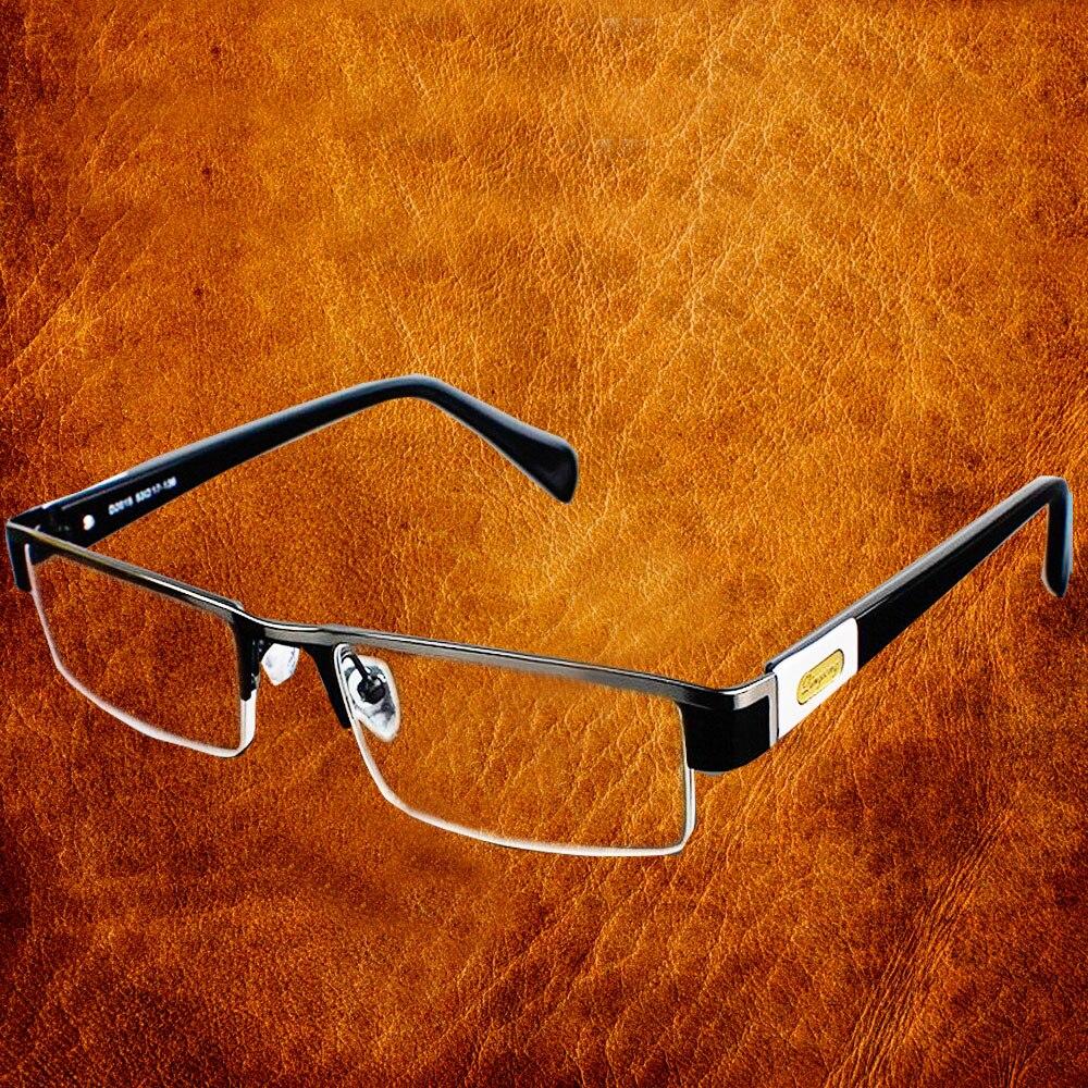 Hohe Qualität MÄNNER titanlegierung Brillen Nicht sphärische 12 Layer Beschichtete linsen lesebrille + 1,0 + 1,5 + 2,0 + 2,5 + 3,0 + 3,5 + 4,0