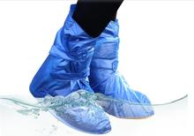 PVC Environmental Protection Waterproof Shoe Covers for Foot Plastic Rain Shoe Cover Wear Directly Washed Reusable Shoe Covers