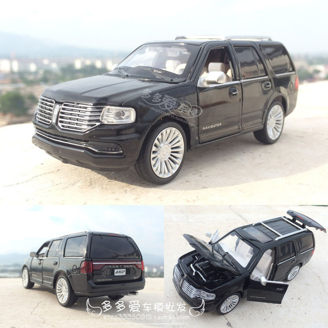1 32 Lincoln Navigator Alloy Car Model Metal Diecast Toy Vehicles