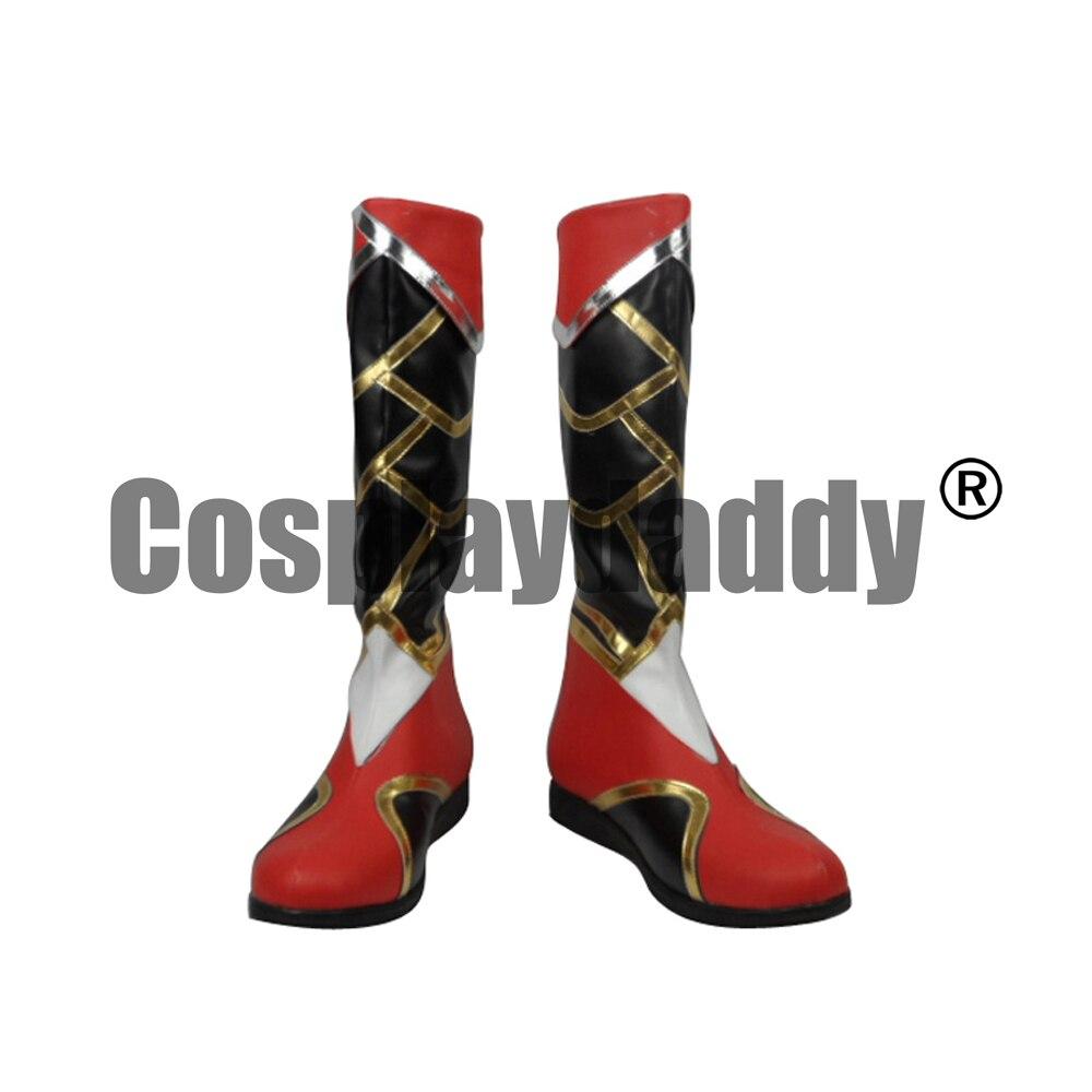 LOL le renard à neuf queue Ahri peau originale Ver. Jeu Cosplay chaussures bottes H016