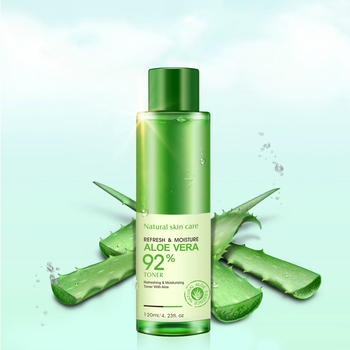 120ML Natural Aloe Vera Face  5