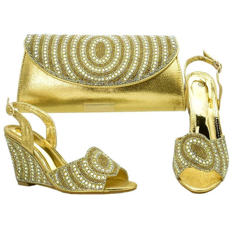 Zapato plata Imitación Para Africanas Decorado vino Negro Diamantes Bolso oro Zapatos Las púrpura De Señoras Y Boda Tinto Con Fiesta Mujeres Bolsa Italiano La TwwYv1q
