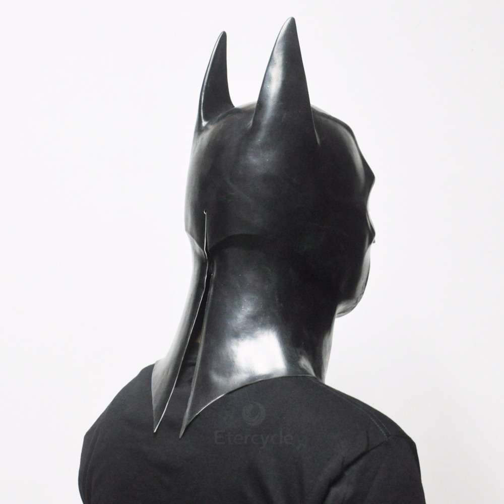 Batman Maskaları Yetkinlər üçün Halloween Maskası Tam Üz Latex - Şənlik aksesuarları - Fotoqrafiya 4