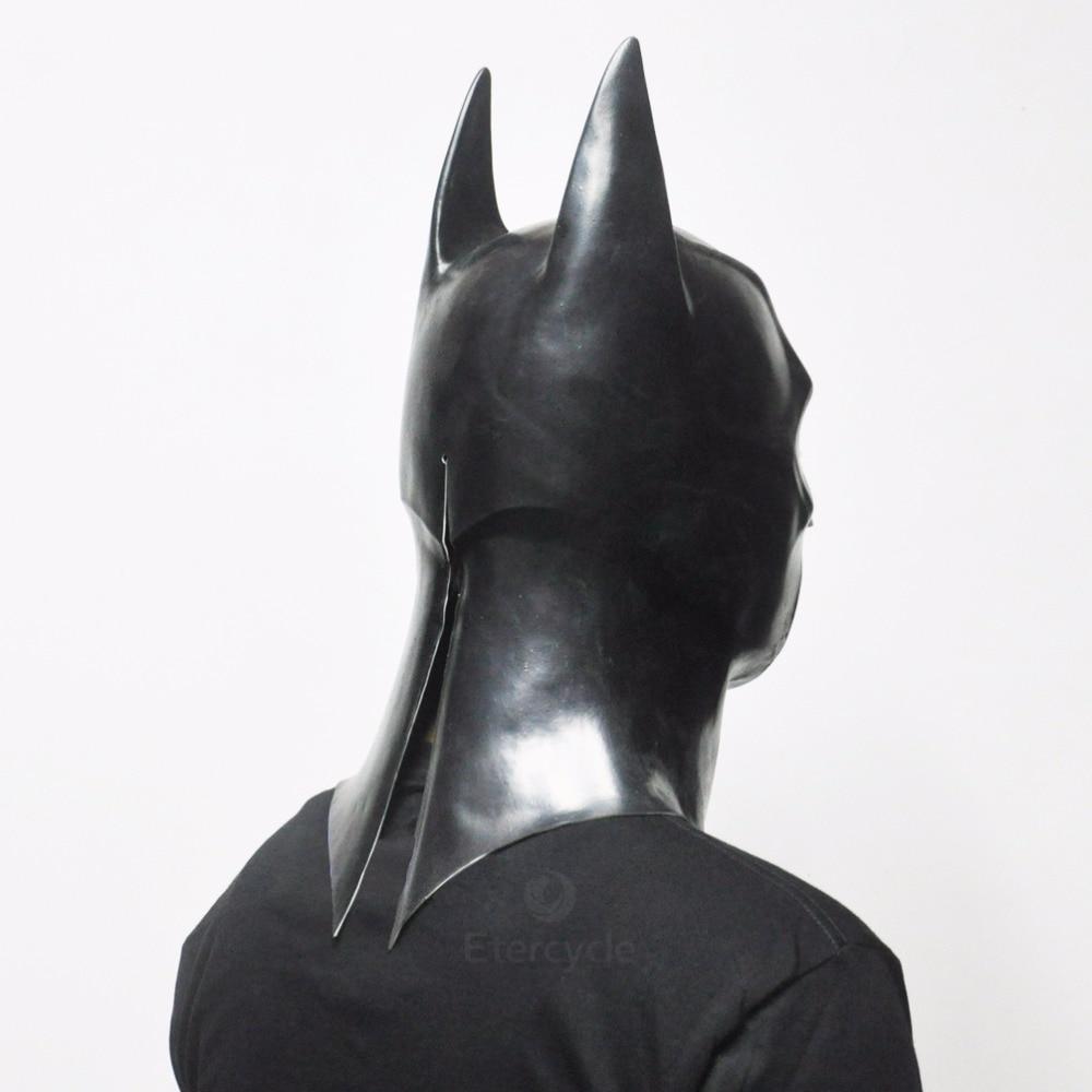 Batman Masks Vuxen Halloween Mask Full Face Latex Caretas Film Bruce - Semester och fester - Foto 4