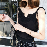 2018 New Vest Women Tops Cute Style Sexy Vest V Neck Lady Camisole Strap Clothes Bustier