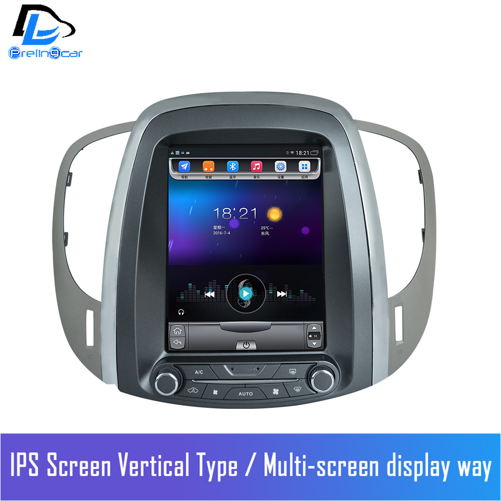 32G ROM android navigation system vertical radio stereo player for Buick old Lacrosse car font b