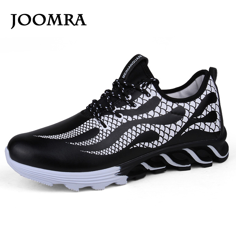 Joomra Men Running Shoes  Waterproof Cushioning Techonology Sneakers  Non-slip Men  Athletic  Sport Shoes men Spring shoes