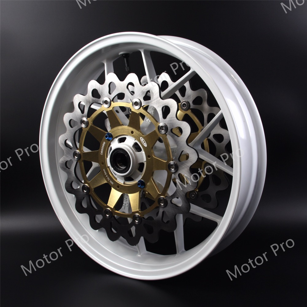 For Honda CBR1000RR 2006 - 2017 Front Wheel Rim Brake Disc Rotor Disk Motorcycle Accessories CBR 1000 RR CBR1000 1000RR 1000cc one pair high quality motorcycle cbr1000rr front floating brake disc rotor for honda cbr1000rr cbr 1000rr cbr 1000 rr 2004 2005