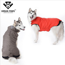 Excessive High quality Huge Canine Garments Simple Put on Winter Canine Coat Fleece Lining Jacket Small Medium Massive Canine Down Coat Elastic Stomach S-5XL