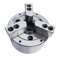 3S 05 / 3P 05 3 Jaws Closed Center Hydraulic Chuck With Soft Jaws