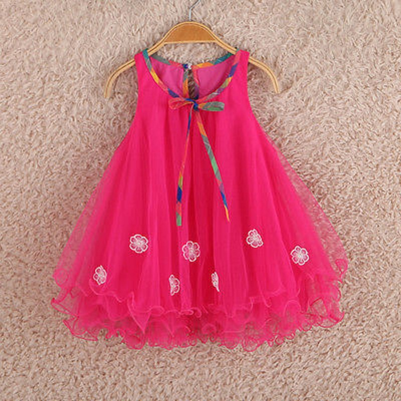Подробнее о 2016 Summer style girl dresses for 2 7 years Princess Party Kids clothes Child wear toddler tutu baby girls dress with lace 2017 new princess party wear toddler girls dresses kids clothes elegant child flower girl lace ivory kids dress for weddings