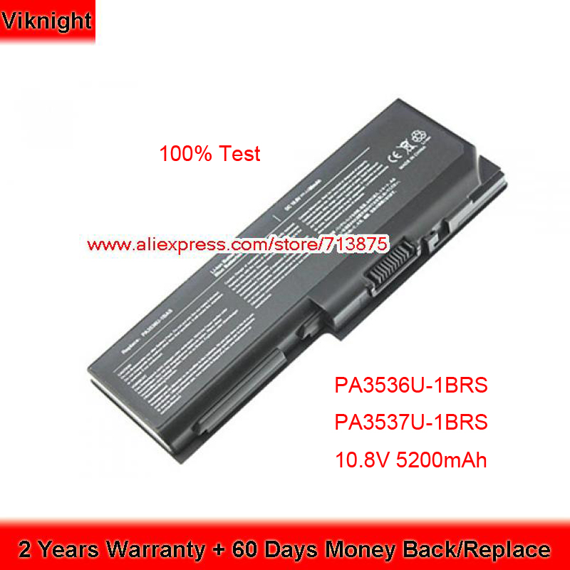 High Quality PA3536U-1BRS PA3537U-1BRS <font><b>Battery</b></font> for <font><b>Toshiba</b></font> <font><b>Satellite</b></font> P205 P200 P300 <font><b>L350</b></font> L355 PA3537U-1BAS 10.8V 5200mAh image