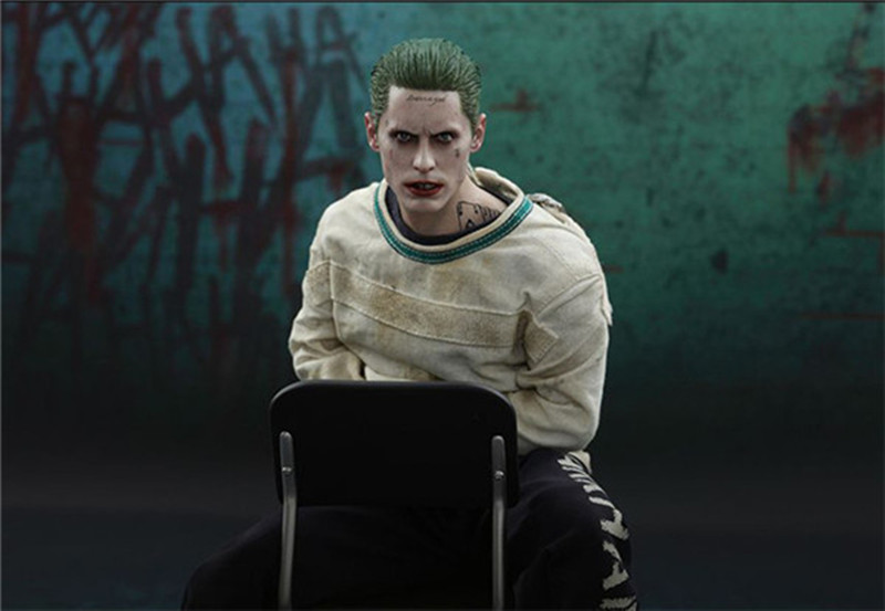 30 cm DC Suicide Squad The Joker Action Figure Collectible Model Toys With Clothes 1/6 PVC Top Quality Figure Toys30 cm DC Suicide Squad The Joker Action Figure Collectible Model Toys With Clothes 1/6 PVC Top Quality Figure Toys
