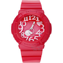 Casio watch Fashion trend double explicit student electronic watch ladies watch BGA-130-1B BGA-130-2B BGA-130-4B BGA-130TR-7B