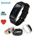 Nova Bewot DF23 Banda Inteligente Pulseira Smartband Rastreador De Fitness Monitor de Freqüência Cardíaca À Prova D' Água Do Bluetooth para Android iOS