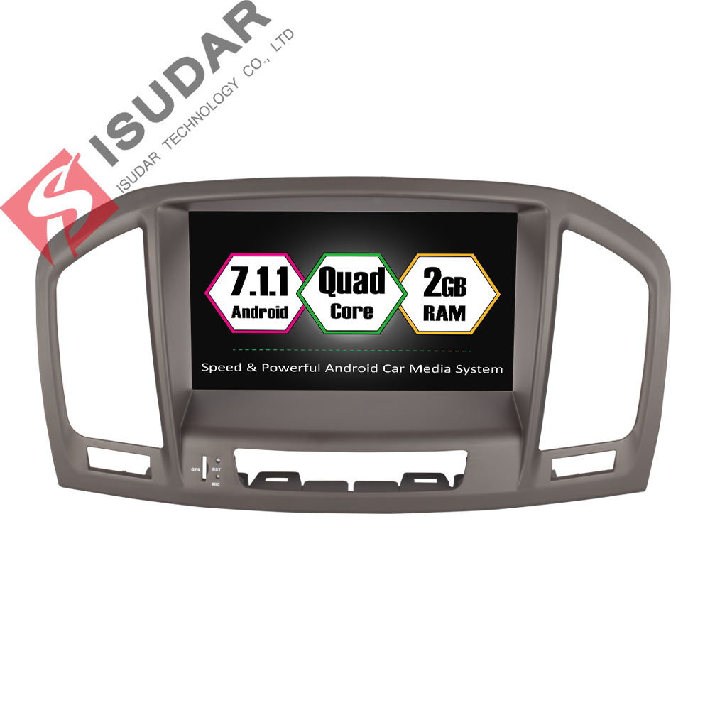 Two Din Android 7.1.1 8 Inch Car DVD Player For Opel