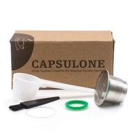 2 GEN Nespresso Capsulone Capsules DIY STAINLESS STEEL Metal Nespresso Machine Compatible Capsule Refillable Reusable