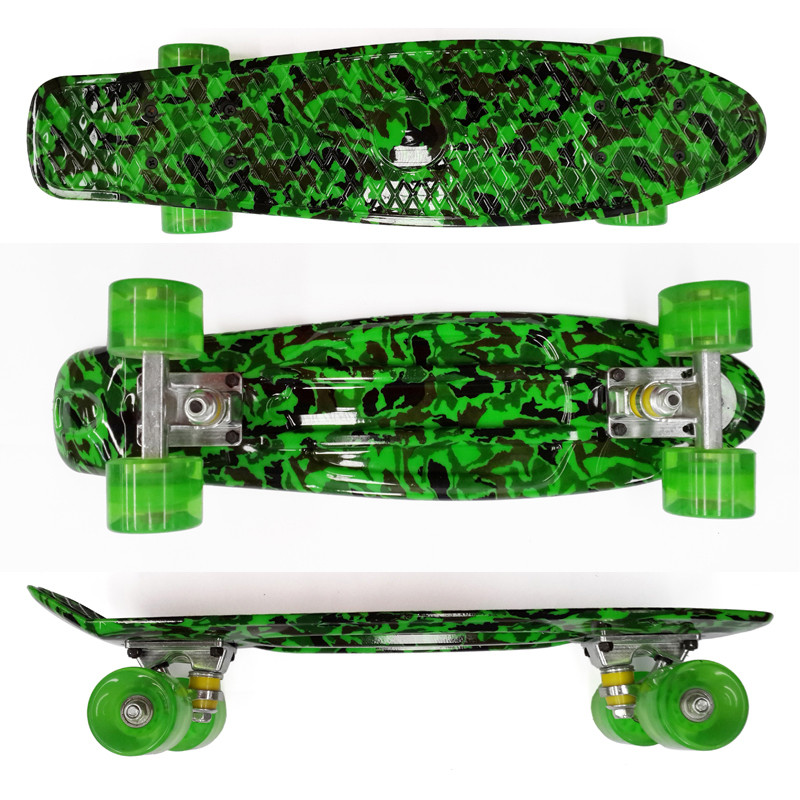 """Image 5 - Peny Board 22""""Plastic Skateboard Boy Girl  Available-in Skate Board from Sports & Entertainment"""