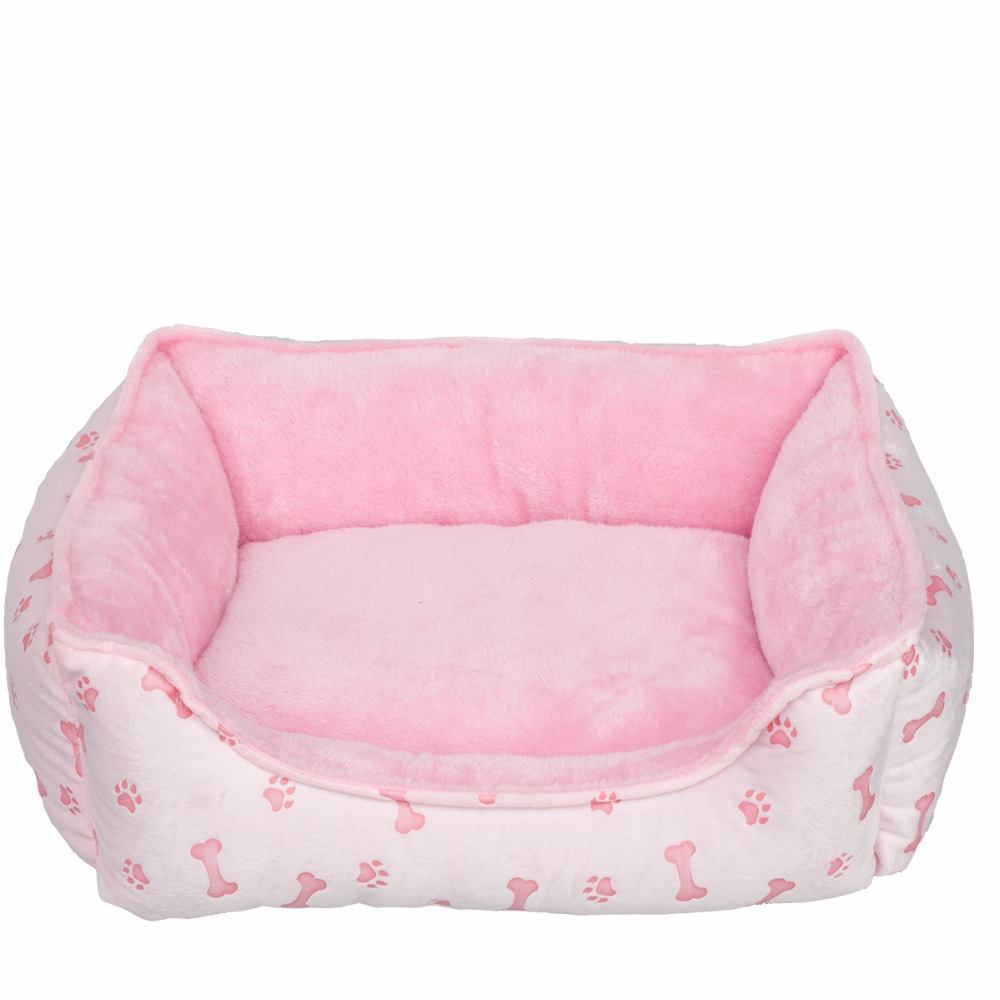 Soft Cute Pet Dog House Fabric Warm Cotton Pet Dog Beds for Cat Small Dogs