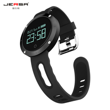 Smart Watch Jersa DM58 Bluetooth Heart Rate Blood Pressure Waterproof Remote Camera Message Remind IOS Android Sports Fashion