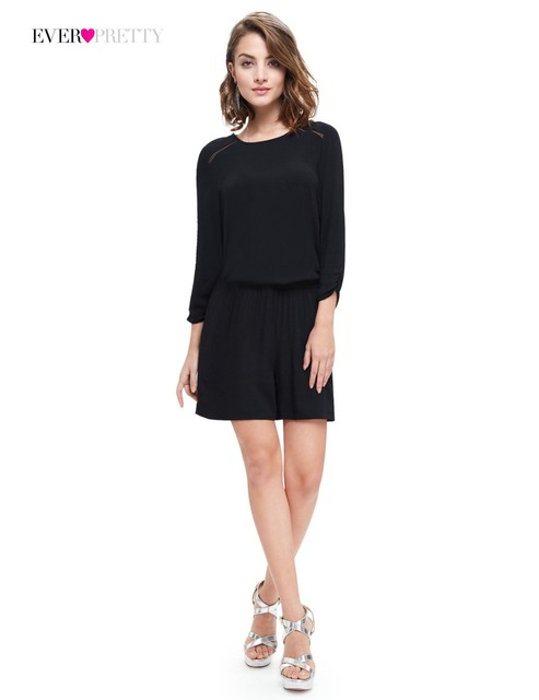 Clearance Sale] Cocktail Dresses Ever pretty HE05308 Women Black ...