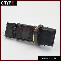 המוני חיישן זרימת אוויר 6110940048 עבור מרצדס בנץ C209 S203 S210 W203 W210 W220 722684070 722684000