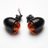 Universal Mini Motorcycle Bulb Turn Signals Front Rear Light For Most Motorcycle Models Honda Kawasaki Suziki