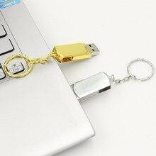 32G 64G 128G USB 2,0 USB флеш-накопитель металлические украшения флеш-накопитель 8G 16G карта памяти Высокое качество u-диск флеш-накопитель Бесплатная доставка