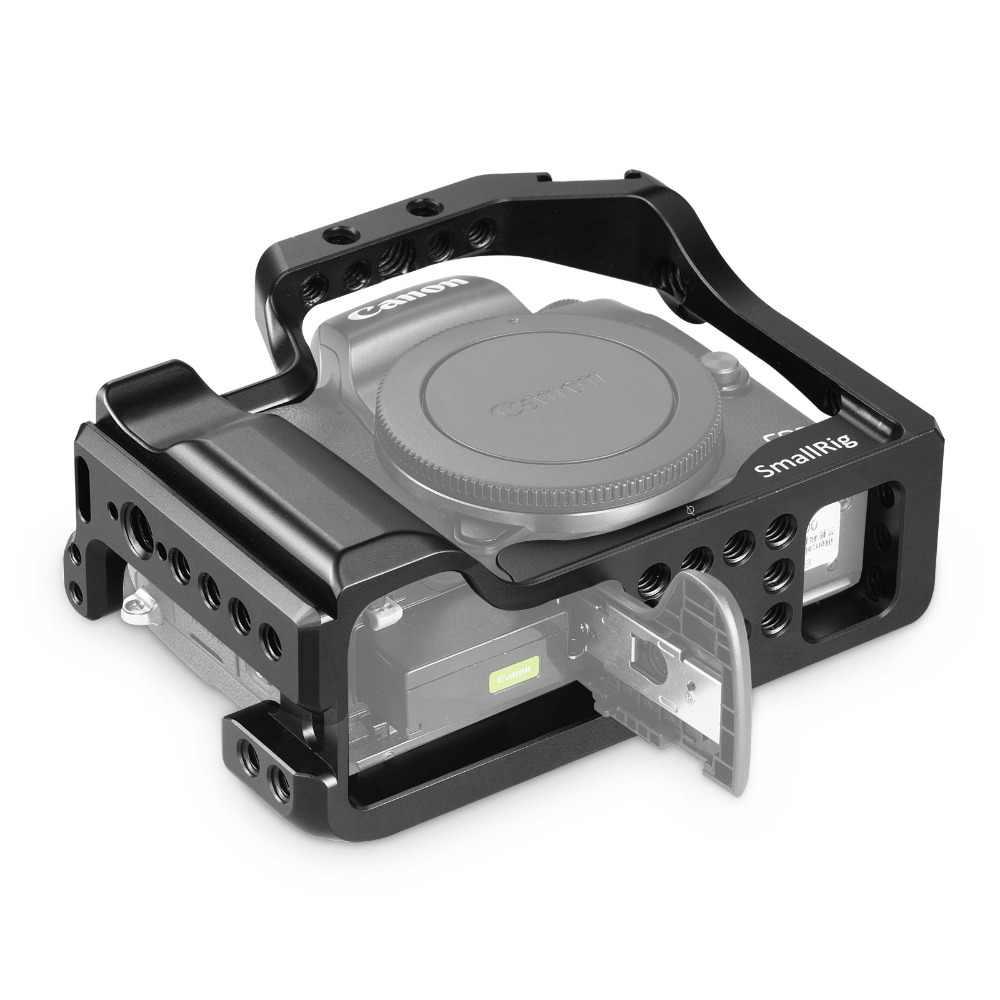 SmallRig M50 Камера клетка для цифровой однообъективной зеркальной камеры Canon EOS M50/Цифрового Фотоаппарата Canon M5 для Vlog W/Железнодорожный вокзал Холодный башмак для видео для 2168
