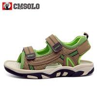 CMSOLO Children Beach Shoes Summer Kids Sandals Boys Girls Brand Hot Casual Flat Shoes Top Boy Shoe Hook & Loop Enfant 3 Colors