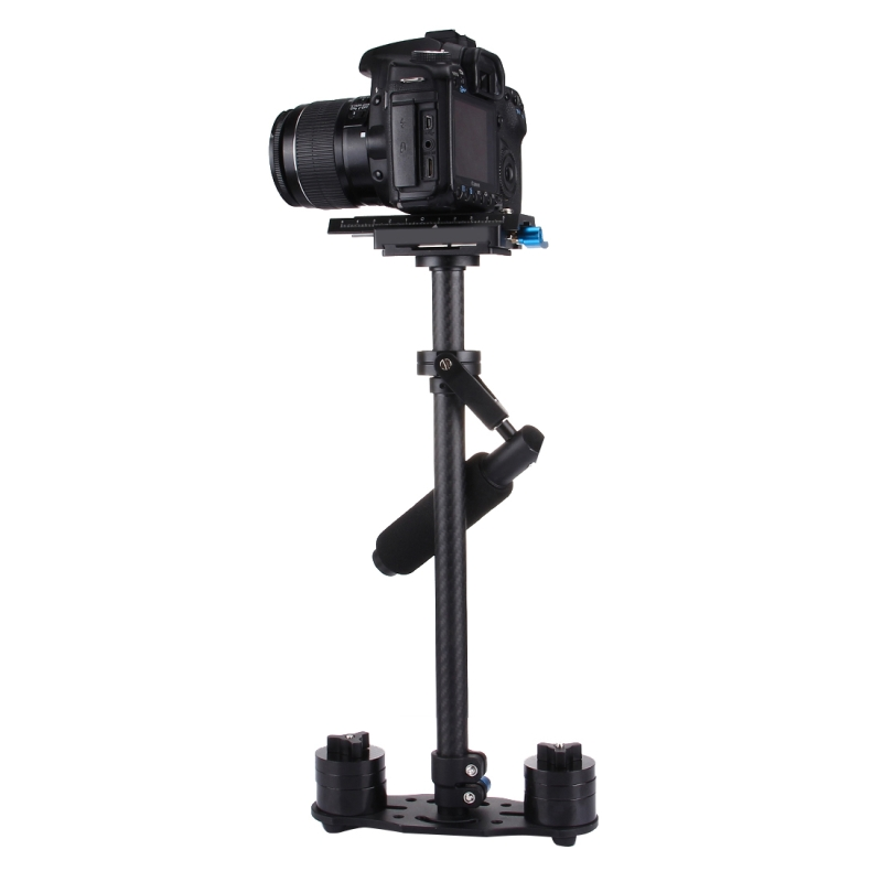 YELANGU S60T steadycam Scalable Carbon Fiber Handheld Stabilizer for Steadicam for Canon Nikon /SONY DSLR Camera DHL Free2.5kg ajustable s60 gradienter handheld stabilizer steadycam steadicam photo studio stabilizer accessories for camcorder dslr
