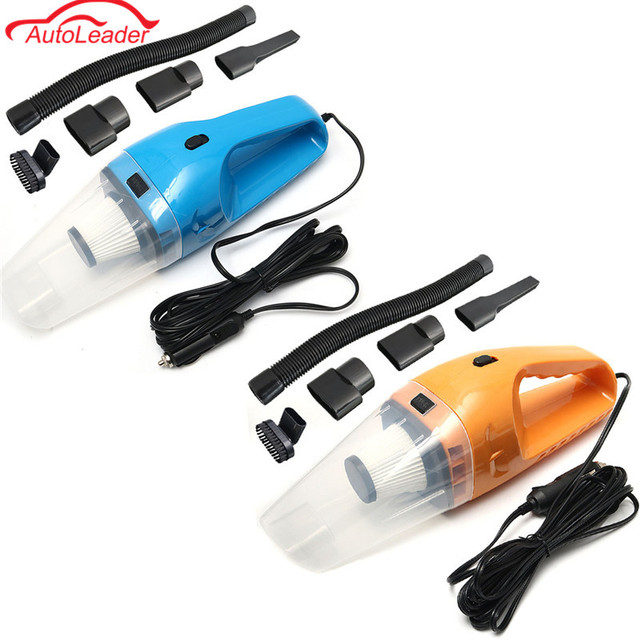 Car Vacuum Cleaner 12V 150W Auto 6 In 1 Handheld Vacuums With 5m Power