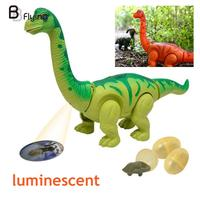 Dinosaur Model Toy Developmental Electric Hand Inductive Flashing