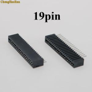 Image 3 - 2 個 18Pin 19Pin キーフィルムソニー PS2 フレックスリボンフレックスケーブル接続ポート導電性フィルムソケットコネクタ