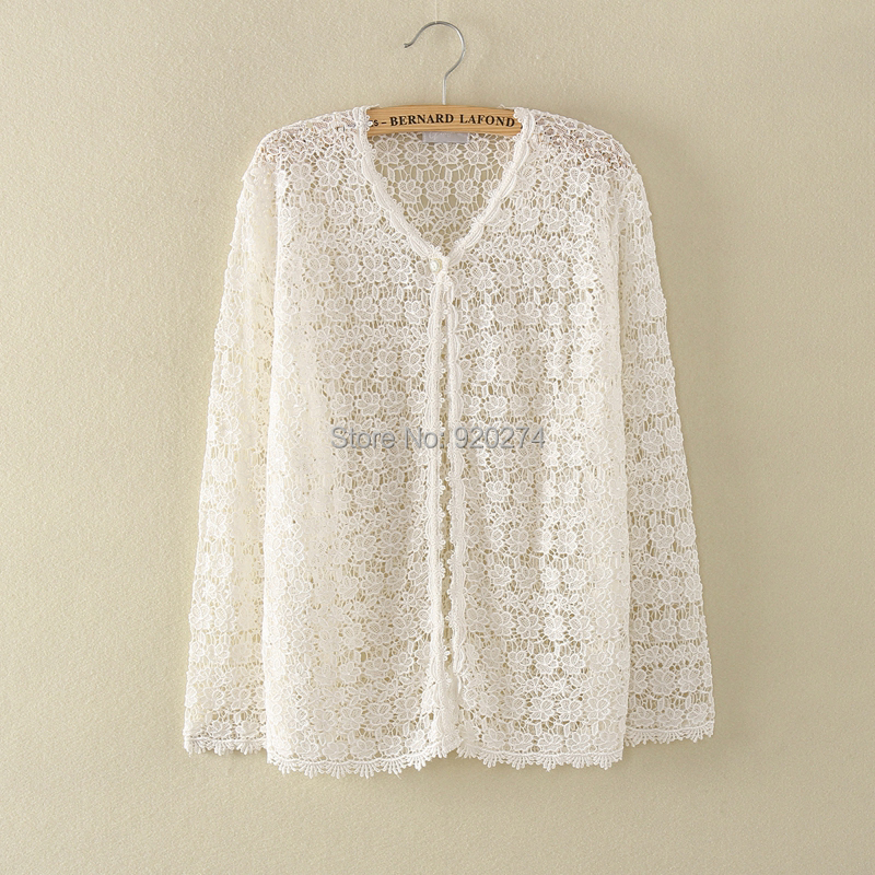 Knitting Pattern Sweater Lace : Online Get Cheap Lace Cardigan Pattern -Aliexpress.com ...