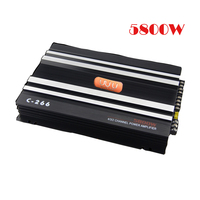 POWERFUL car amplifier ,class AB 4 channel car  subwoofer amplifier