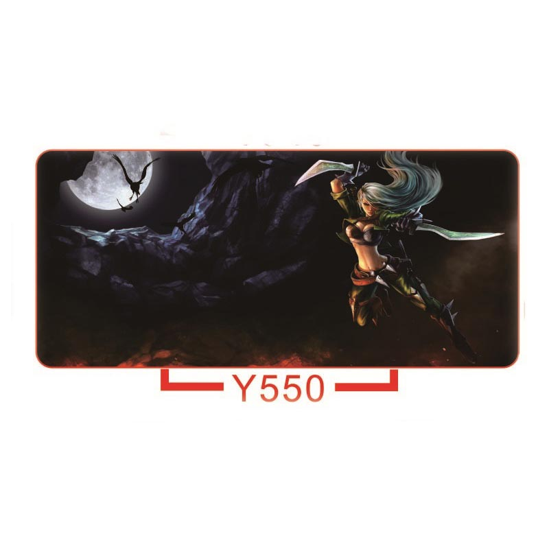 Soft Rubber Gaming Mouse Pad Computer Game Keyboard Mice Mat XL Large Size 900*400*3mm